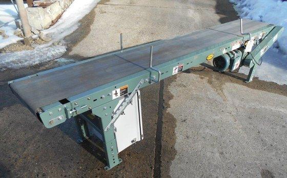 "hytrol belt conveyor.14"" wide x"