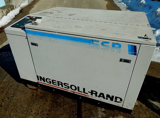 ingersoll rand rotary screw air