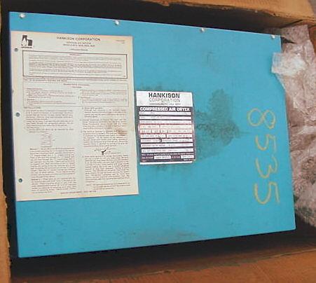 Hankison Air Dryer 8025 #8535