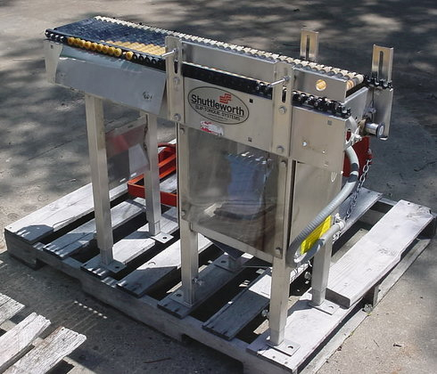 continuous live roller conveyor by