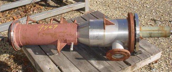 """turbo film evaporator.mfg .48"""" long"""