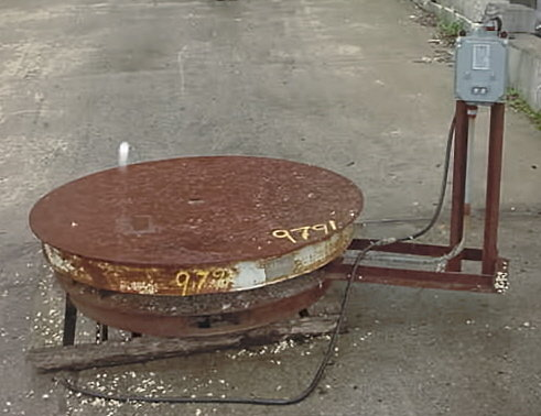 Madon Machinery Turntable 54 Rotary