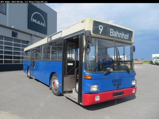 1991 MAN SL 202 Stadtbus