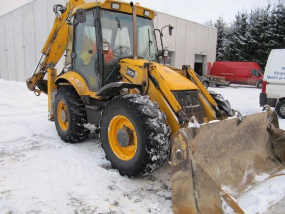 2007 JCB 3CX Super Backhoe