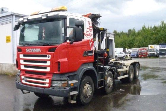 2010 Scania R 440 8X4