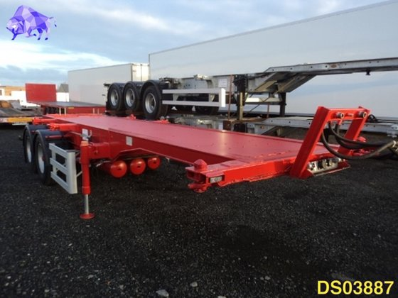 2015 TURBO'S HOET OPLEGGER CONTAINERCHASSIS