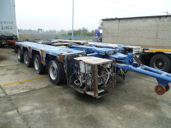 2006 cometto 41ms Chassis trailer