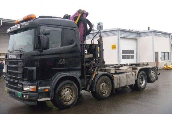 2005 Scania R164 GB 8X2*6