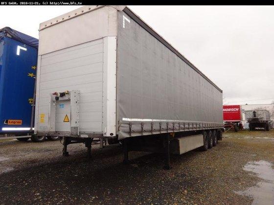 2012 Schmitz Cargobull Sattelauflieger SCS