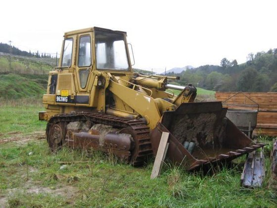 1989 Caterpillar 963 Crawler loader