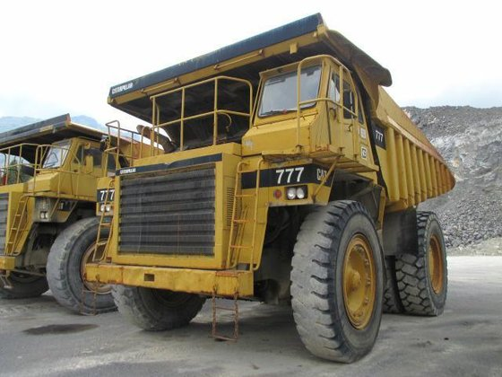 1977 Caterpillar 777A Rigid dumper/