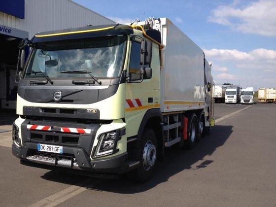 2014 Volvo FMX Garbage truck
