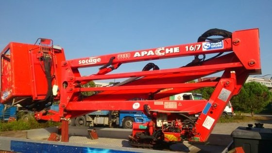 Socage APACHE 16/7 Articulated boom
