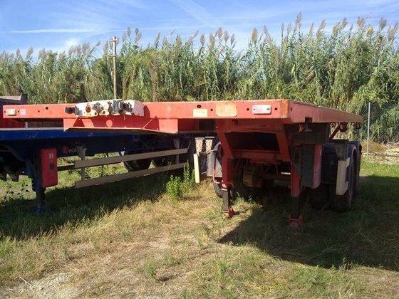 Leciñena Leciñena A-7000-PP-N-D Flatbed semi-trailer