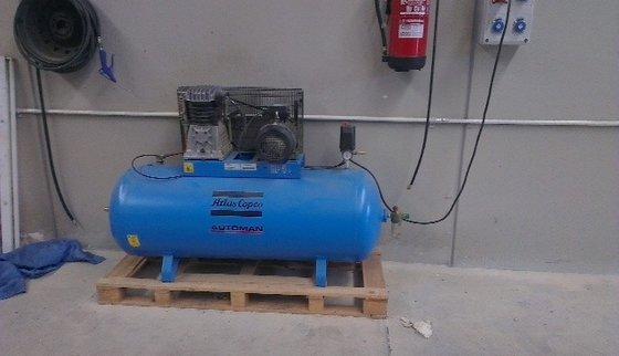 Transgruas Compresor MEC 100L-2 Air