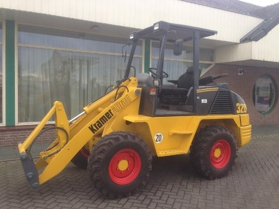 2000 Kramer 320 Wheel loader