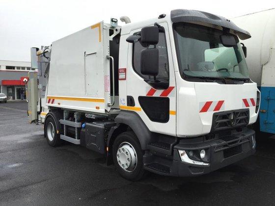 2015 Renault Midlum 220 Garbage