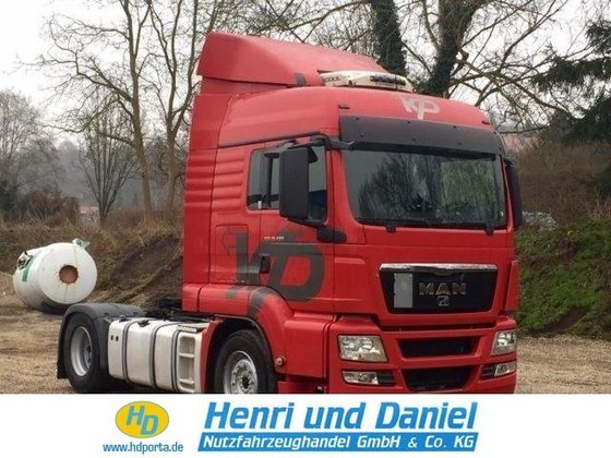 2011 MAN Tractor unit in