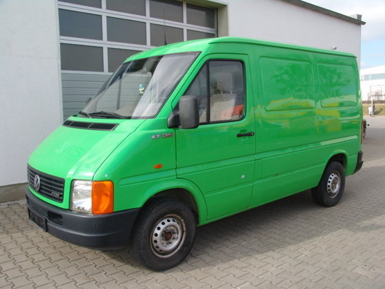 2001 VOLKSWAGEN LT 35 Kastenwagen