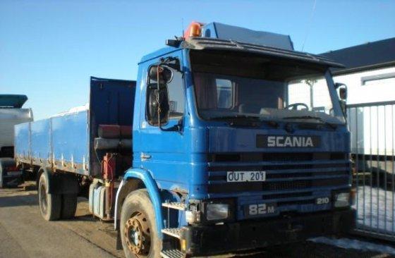 1984 Scania P 82 Dropside