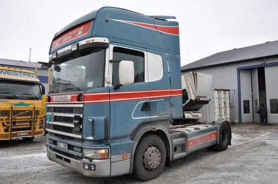 2000 Scania 144 Tractor unit