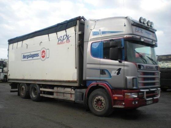 2000 Scania 144 Box truck