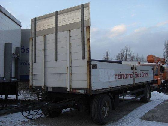 2004 Schwarzmüller PA2/E Dropside trailer