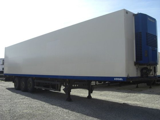 2001 Kögel SVKA24/MULTITEMP Refrigerator semi-trailer