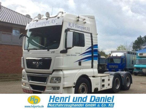 2010 MAN Tractor unit in