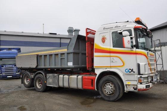 2001 Scania 164 580 6X2