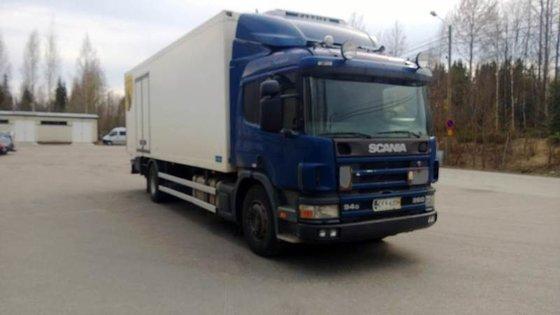 1999 Scania P94 Box truck