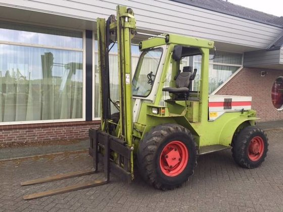 CLAAS Ruw terreinheftruck Rough terrain