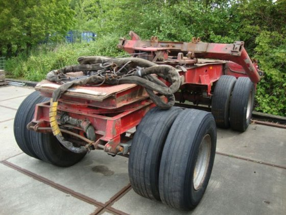 1992 Fruehauf 2axel springs Chassis