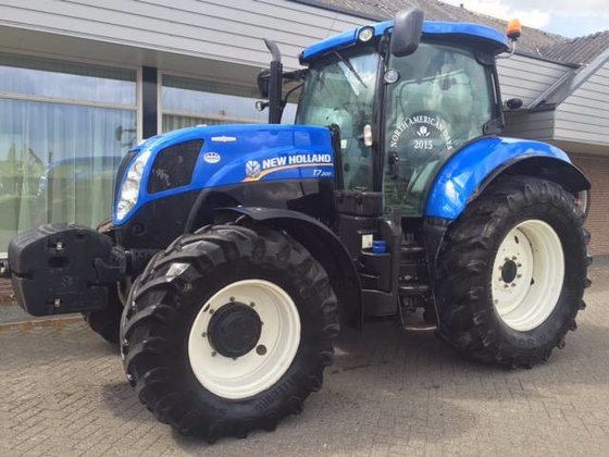 2012 New Holland T 7.200