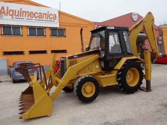 1994 Caterpillar 428B Backhoe loader