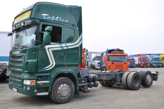 2008 Scania R480 6X2 Container