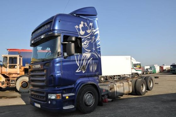 2007 Scania R480 6x2 Euro