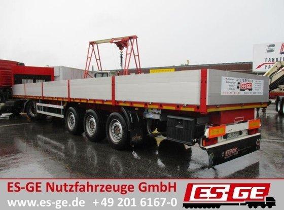 2014 ES-GE 3-Achs-Sattelauflieger - Bordwände