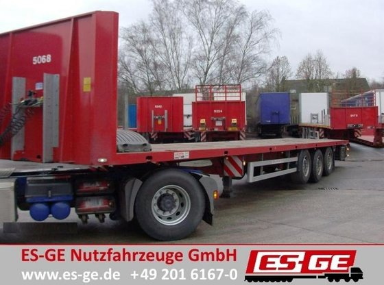 2010 ES-GE 3-Achs-Plateau-Sattelauflieger Flatbed semi-trailer