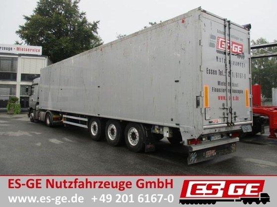 2012 3-Achs-Schubbodenauflieger - 93 m³