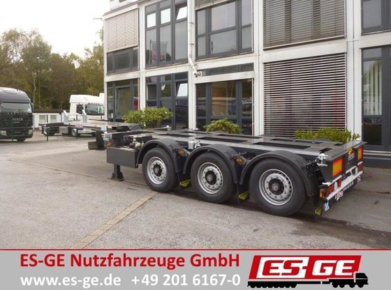 2014 Broshuis 3-Achs-Containerchassis - multifunktional