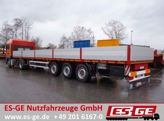2014 ES-GE 3-Achs-Sattelauflieger - Containerverr.