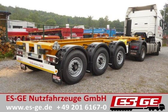 2014 Krone 3-Achs-Containerchassis Container transporter/