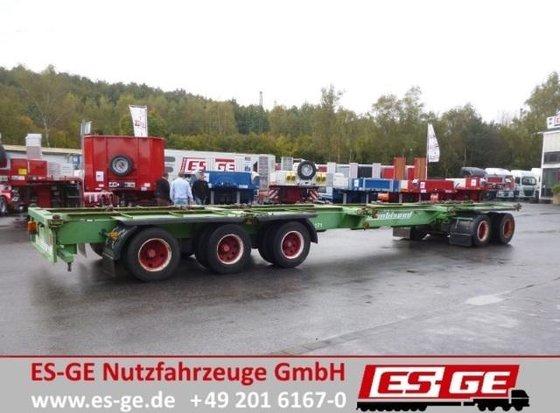 2000 Doll 5-Achs-Anhänger - Containerverriegelungen