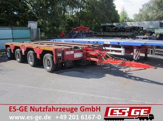 1999 Scheuerle 4-Achs-Fahrwerk 80PE4M1500 Flatbed