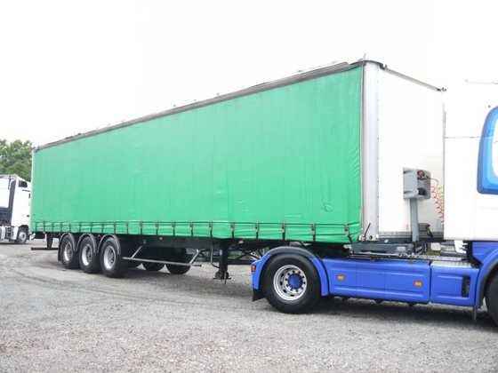 2003 General Trailer Tautliner Curtainsider