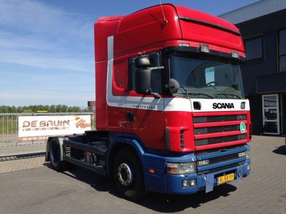 2002 Scania R114 380 Manual
