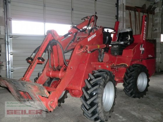 2000 Weidemann 1370 Wheel loader