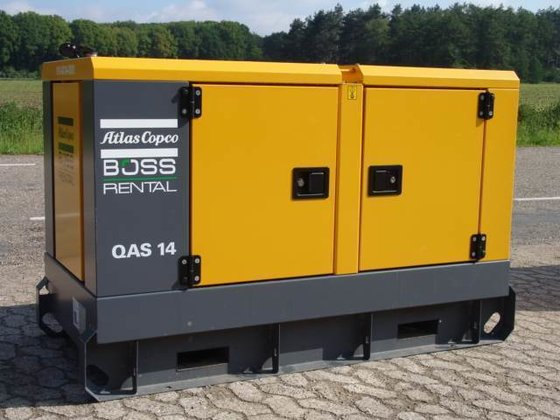 2014 Atlas QAS 14KVA BM0013