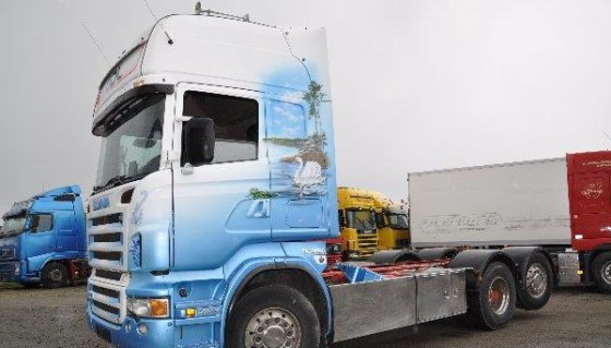 2005 Scania R470 6X2 Container